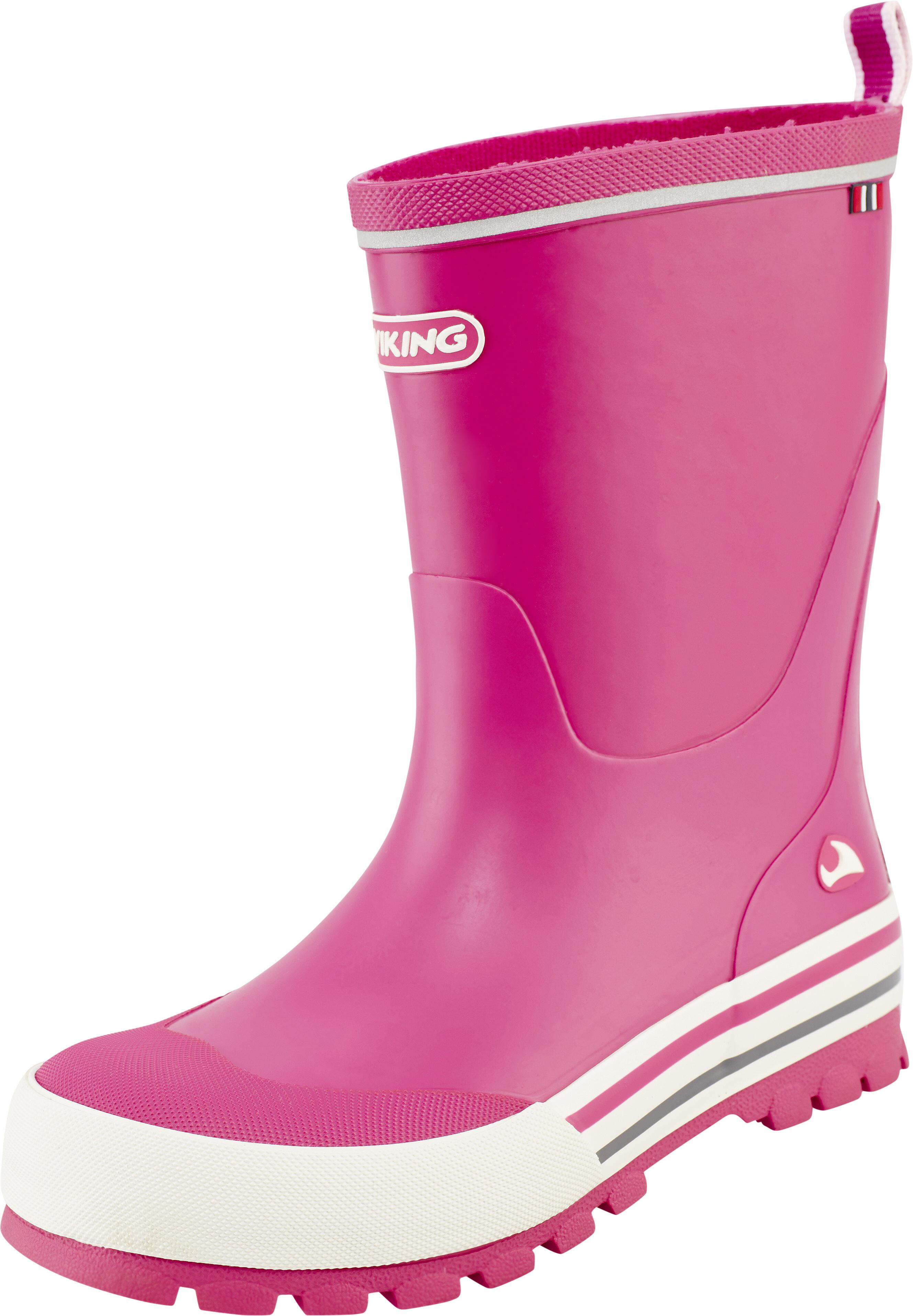 28c9fcf567b Viking Footwear Jolly Gummistøvler Børn pink | Find outdoortøj, sko ...